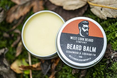 Bartbalsam mit Zedernholzöl und sibirischem Tannennadelöl / WCBC