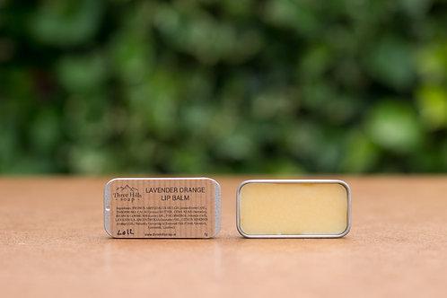 Lippenbalsam mit Lavendel und Orange / Three Hills Soap