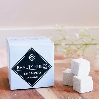 Festes Shampoo für sensible Kopfhaut und empfindliches Haar / Beauty Kubes