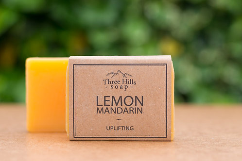 Naturseife mit Zitrone und Mandarine / Three Hills Soap