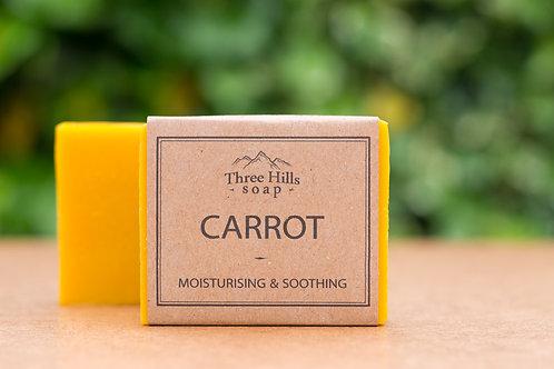 Naturseife mit Karotten-Extrakt / Three Hills Soap