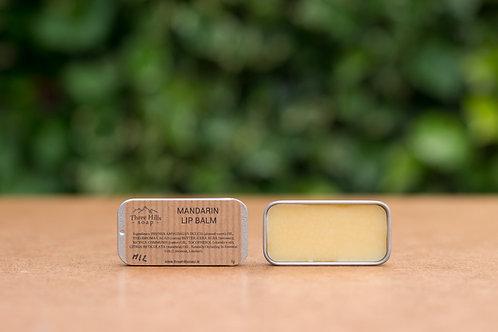 Lippenbalsam mit Mandarine / Three Hills Soap