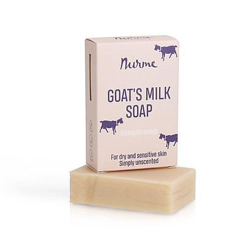 Geruchsneutrale Ziegenmilch-Naturseife  / Nurme