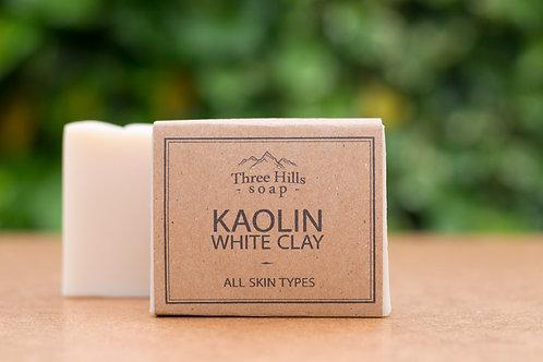 Naturseife mit der weißen Tonerde / Three Hills Soap