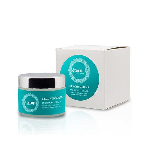 Gesichtscreme für trockene Haut / éternel