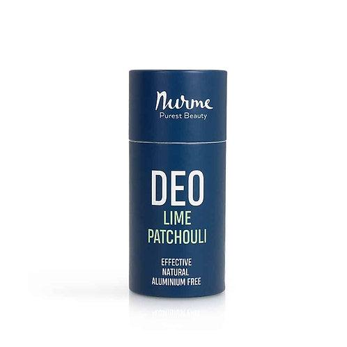 Natürliches Deo mit Limette  & Patschuli - Deostick / Nurme