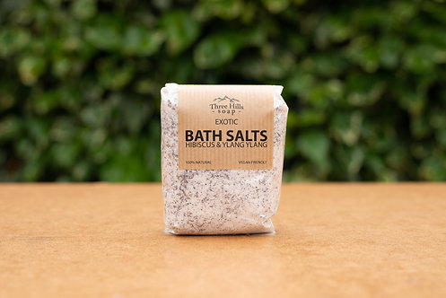 Hibiskus und Ylang-Ylang Badesalz / Three Hills Soap