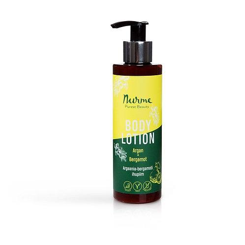 Bodylotion mit Arganöl und Bergamotteöl / Nurme