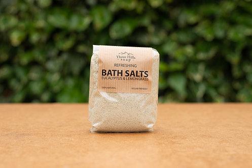 Eukalyptus und Zitronengras Badesalz / Three Hills Soap