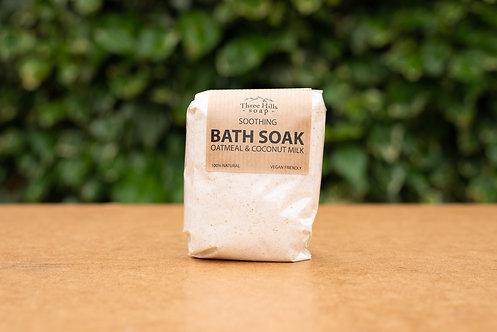 Kolloidales Hafermehl Badezusatz mit Kokosmilch / Three Hills Soap