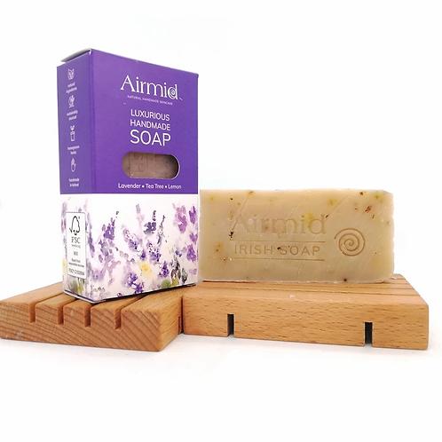 Lavendel und Teebaum Naturseife / Airmid