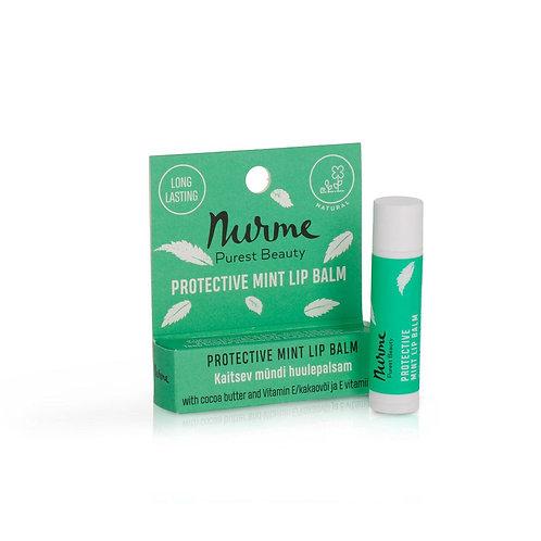 Schützender Krauseminze Lippenbalsam mit Vitamin / Nurme