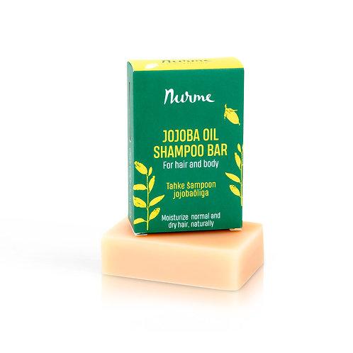Festes Shampoo mit Jojobaöl für normales bis trockenes Haar / Nurme