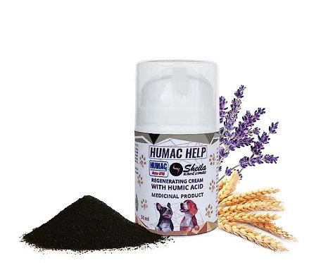 Humac Help Hunde Haut-Regenerierende Crème mit Huminsäure / Sheila