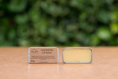 Lippenbalsam frei von Duftstoffen / Three Hills Soap