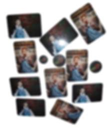 виниловый магнит с фото