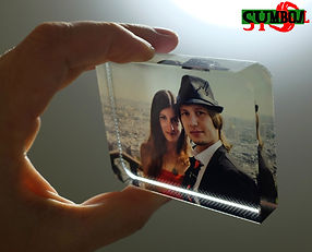 Фотокристалл с вашим изображением