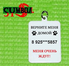 адресник для животных