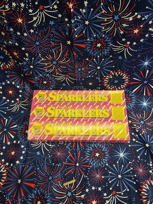 """10"""" Gold Sparklers"""