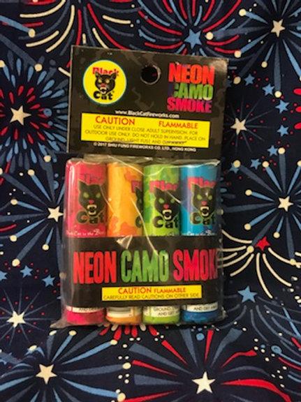 Neon Camo Smoke