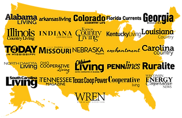 American MainStreet Publications Map