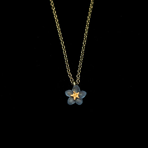 Forget Me Not 1 Flower Pendant