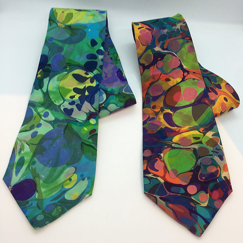 Abstract Silk Tie one-of-a-kind