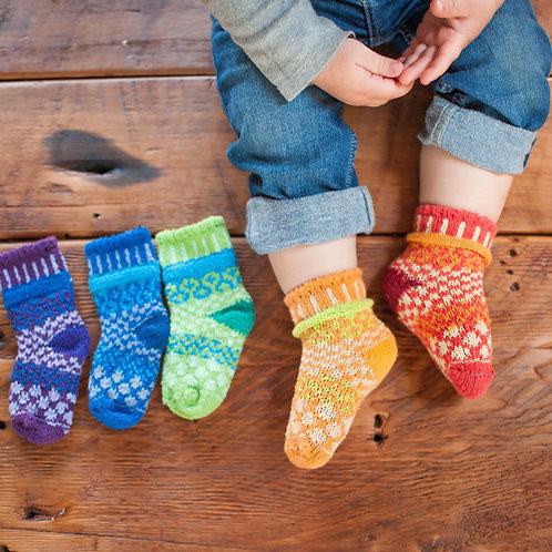 Prism baby socks