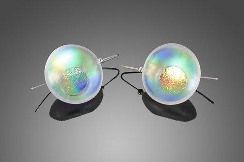 Atomic Opaline Earrings