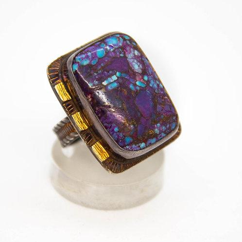 Mosaic Turquoise Ring