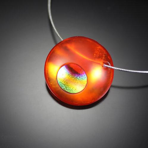 MidAtomic Orange Necklace