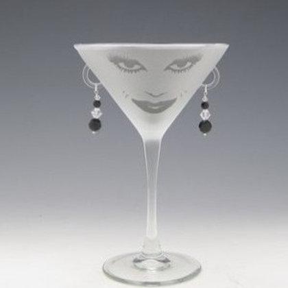 Lola, Carmen or Orlando Martini Glass