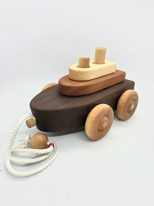 Boat Puzzle Pull Toy