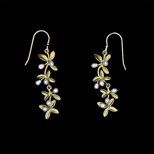 Flowering Thyme Wire Earrings