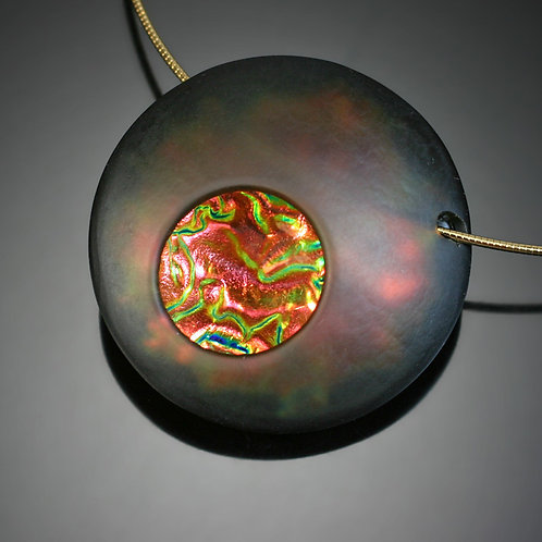 Atomic Lava Necklace