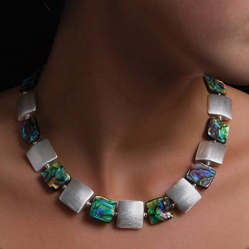 Blaze Abalone Necklace by Naomi Jewelry