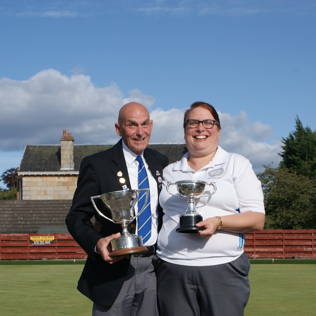 George & Gail 2018 Singles Champions
