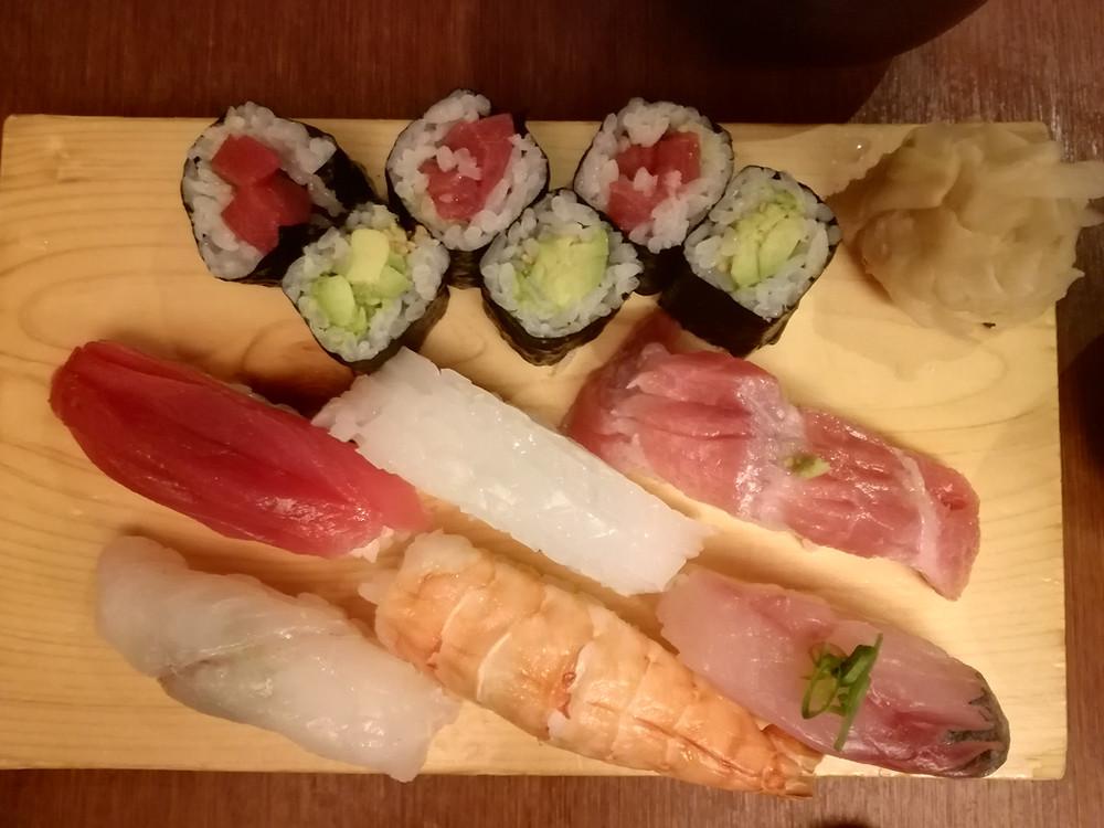 Sushi 寿司 du restaurant Takara