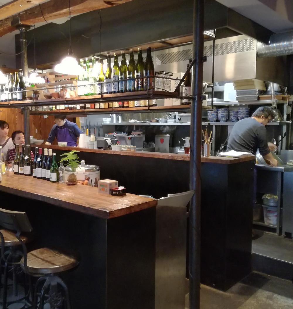 Restaurant japonais authentique Paris ABRI SOBA