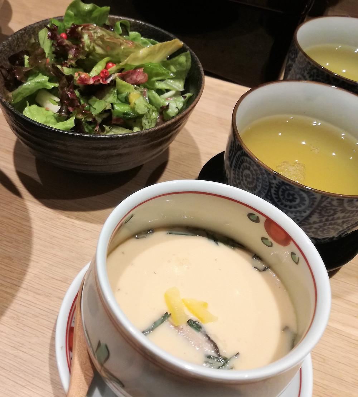 Restaurant japonais Paris Chawan Mushi 茶碗蒸し du restaurant NODAIWA