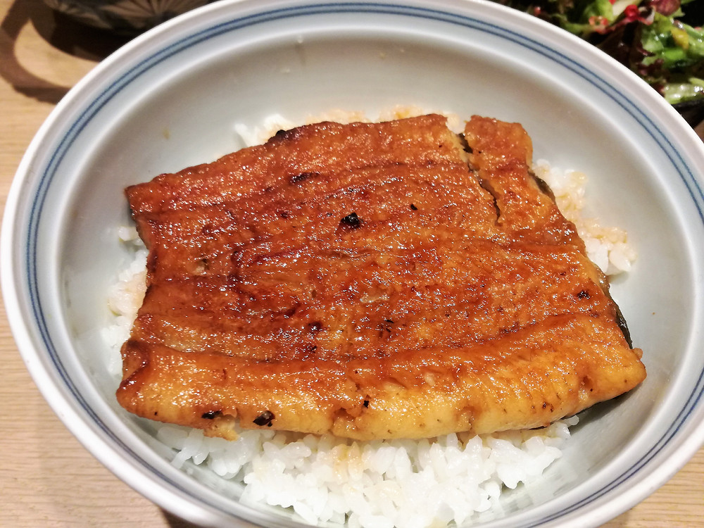 Restaurant japonais Paris Unagi don うなぎ丼 de chez NODAIWA