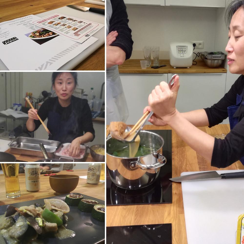 Cours de cuisine japonaise à Espace Japon atelier miso