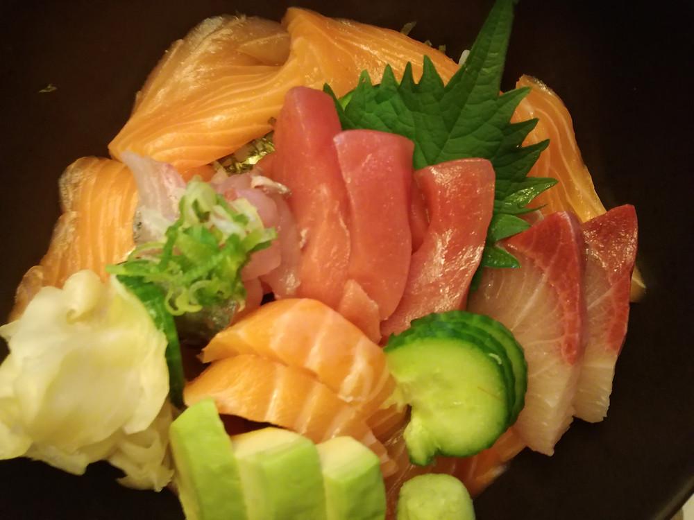 Sashimi 刺身 du restaurant Takara