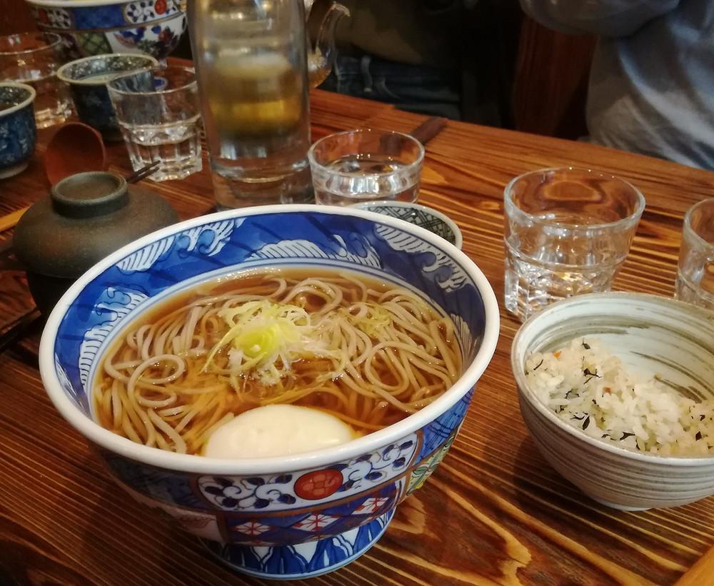 Restaurant japonais authentique Paris Tsukimi soba du restaurant ABRI SOBA