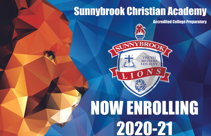 NOW ENROLLING FOR THE NEW SCHOOL YEAR!
