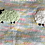 Thumbnail: 109 Pure Wool Baby's Blanket - Multi-coloured with sheep motif