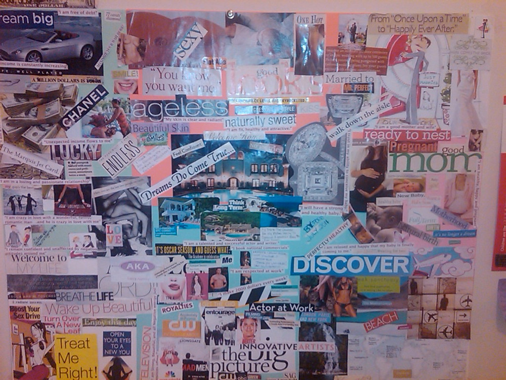 My vision board...