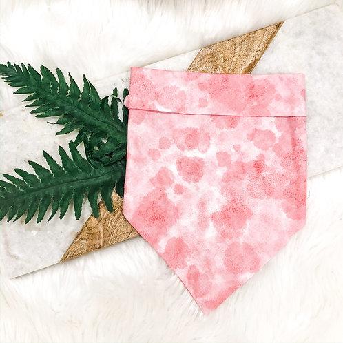 Pink Tie-Dye Bandana