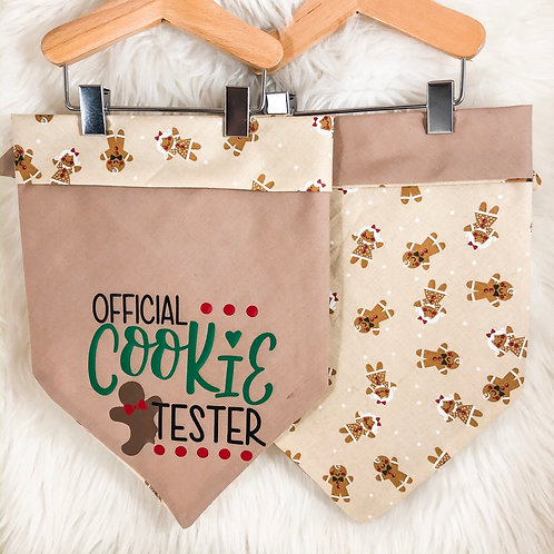 Official Cookie Tester Bandana