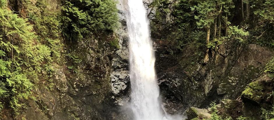 Falling Into a New Year at Cascade Falls (Deroche)